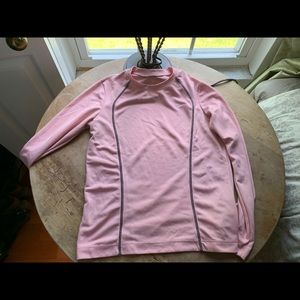 Light Pink Long Sleeved Workout Shirt
